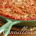 CANNELLONIS A LA BROUSSE & COULIS DE TOMATES 