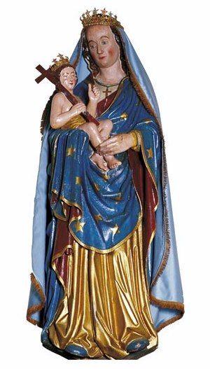 Plougastel-Dalouals, Vierge à l'enfant