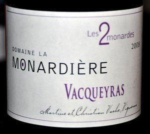 Monardière Vacqueyras