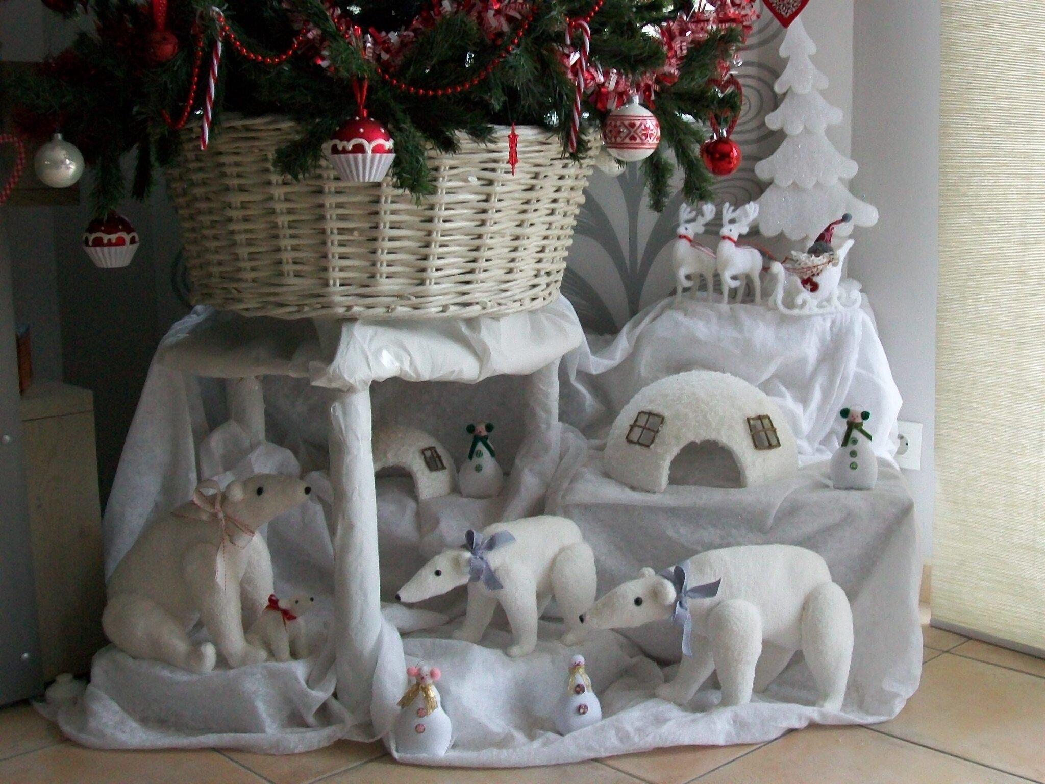 decoration de noel igloo