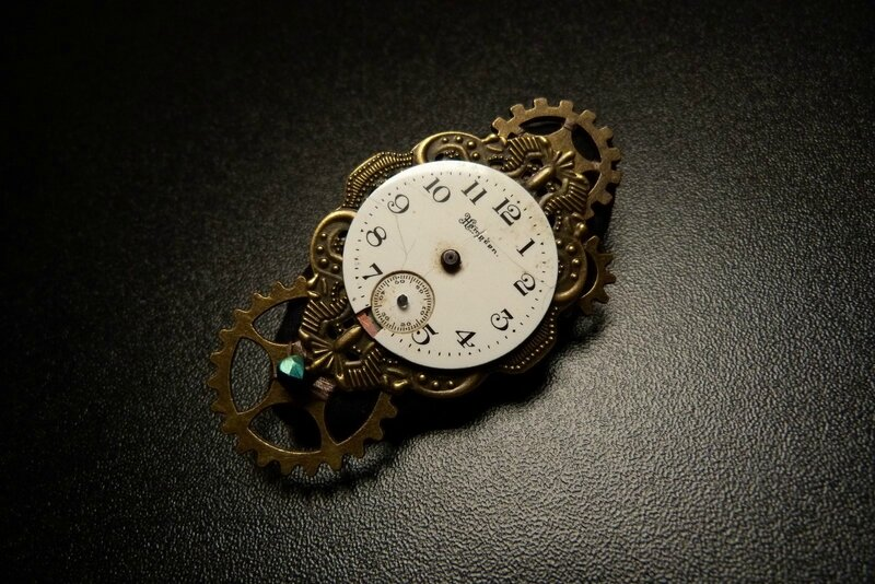 broche steam 2018 01 The Clock (5)
