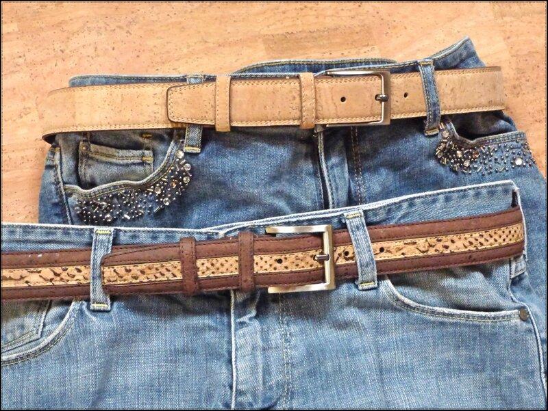 ceintures en liège