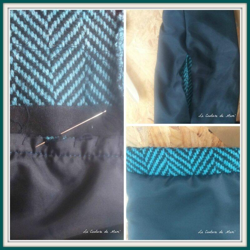 Manteau bleu de Burda Style