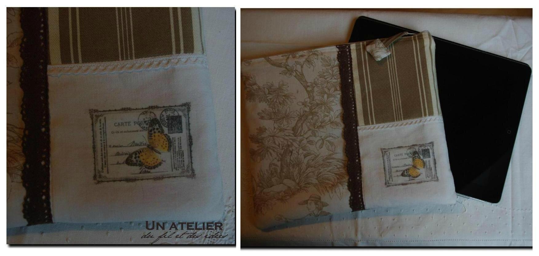 tuto transfert sur tissu un atelier du fil et des id es. Black Bedroom Furniture Sets. Home Design Ideas