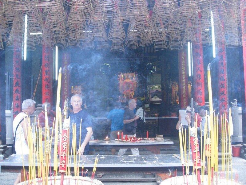 HO CHI MINH VILLE, Pagode Thien Hau, quartier chinois Cholon (1)