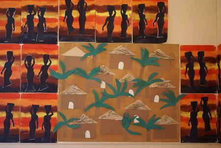 travail autour de l 39 afrique aux petits bonheurs de sophie. Black Bedroom Furniture Sets. Home Design Ideas