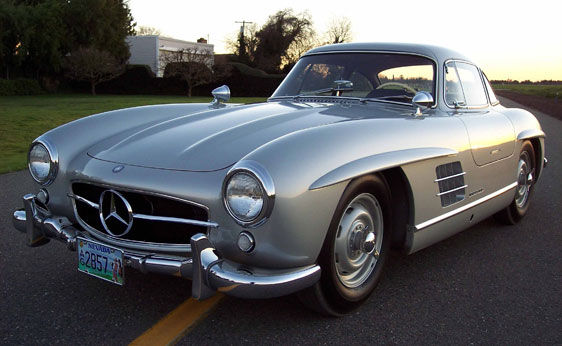 1955 mercedes benz 300sl coupe rm 39 s monterey sale for Mercedes benz monterey