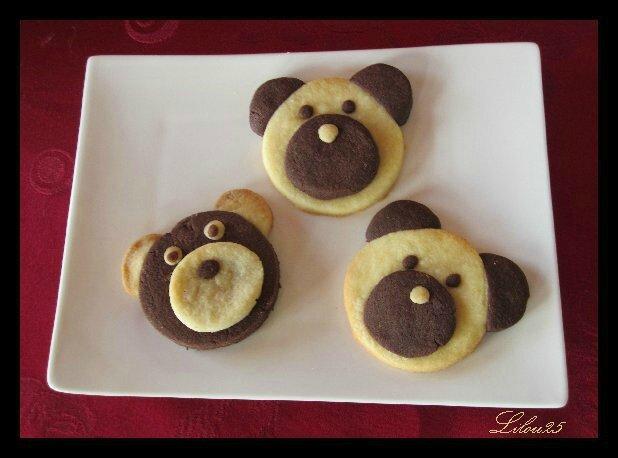 Petits sablés oursons de Lilou