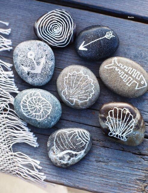 Sous l\'océan : coquillages, galets, bois flotté et verre poli (DIY ...