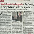 Affirmation du maire et droit de réponse de l'ancien maire à saint-andré-de-sangonis (articles midi libre des 18 et 25 février)