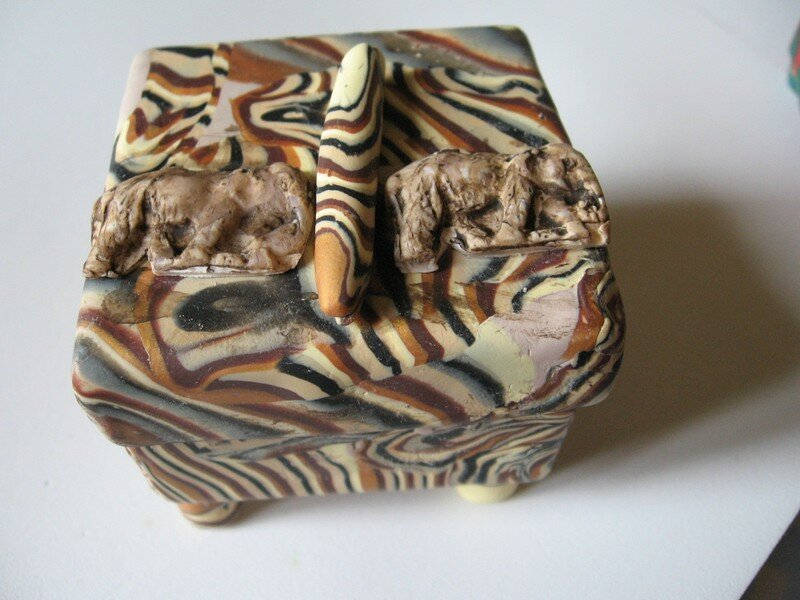 Boîte éléphants