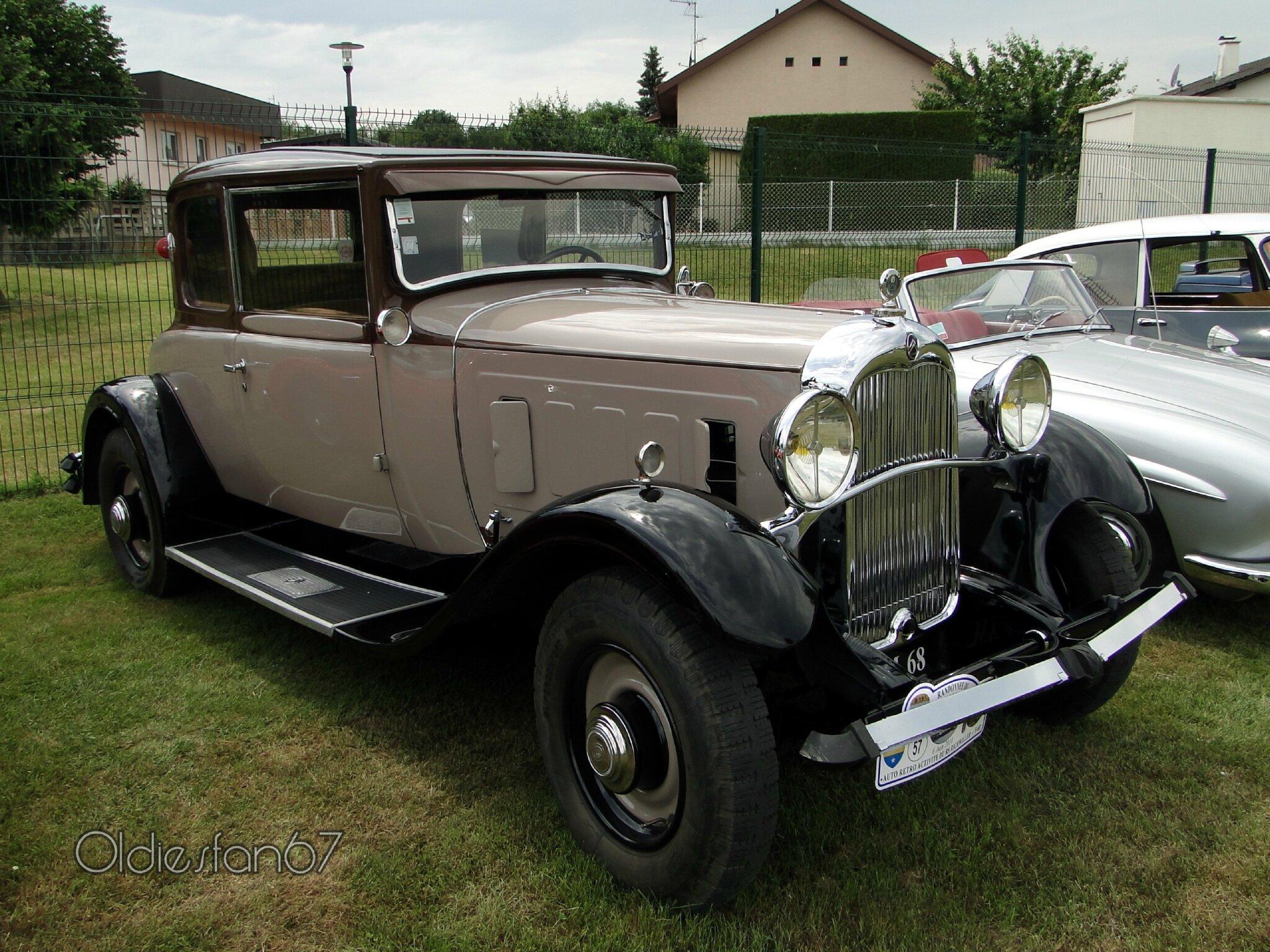 citro n c6g coup 1932 oldiesfan67 mon blog auto. Black Bedroom Furniture Sets. Home Design Ideas