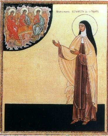 icône de la Bienheureuse Elisabeth de la Trinité