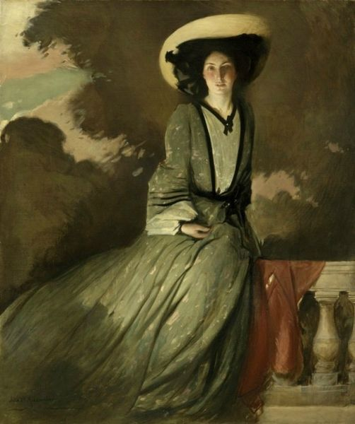 John White Alexander Portrait of Mrs JOhn Alexander White 1902