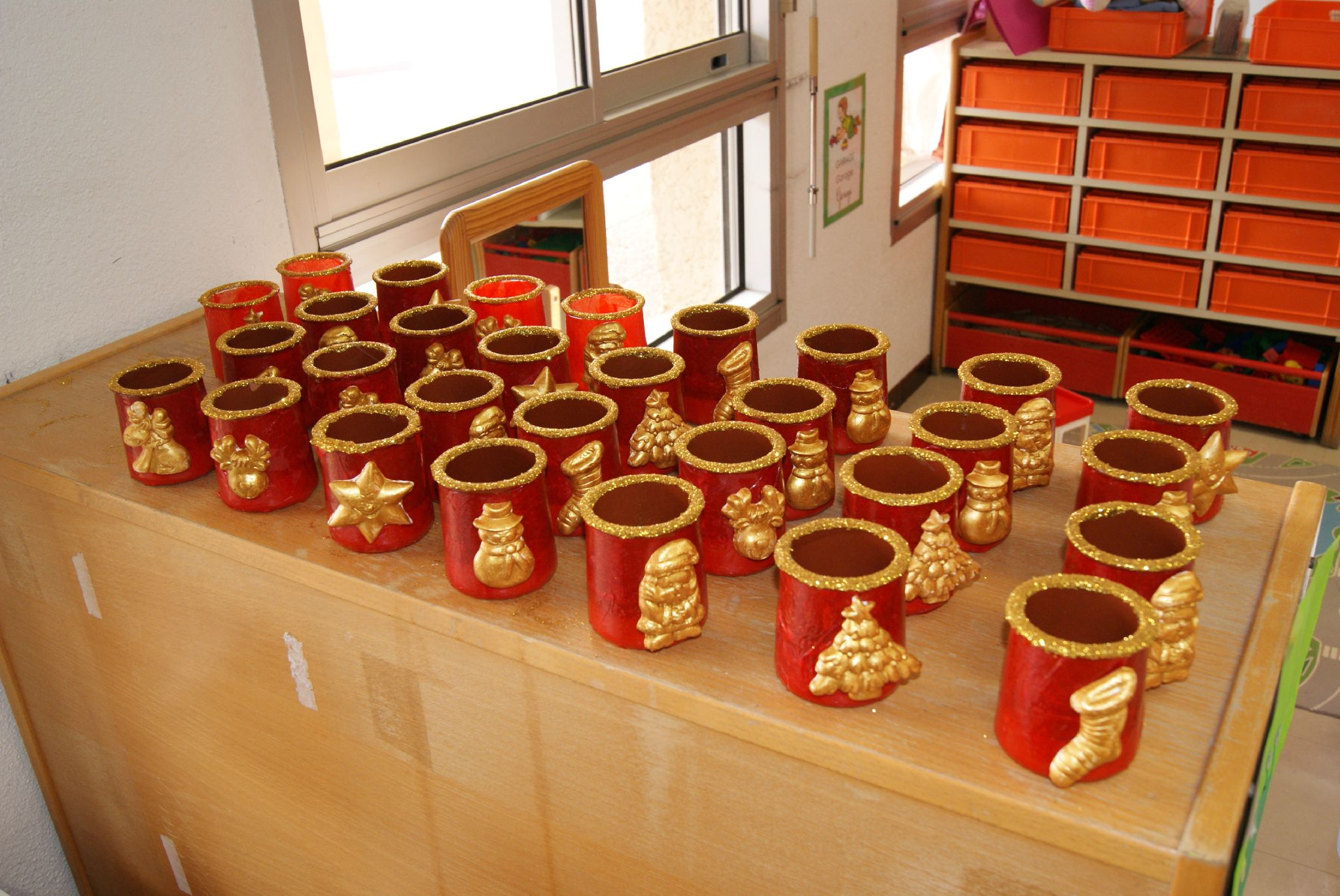 Pots pour la Sainte Barbe