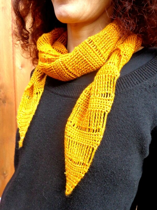 Spun Gold Shawl 4
