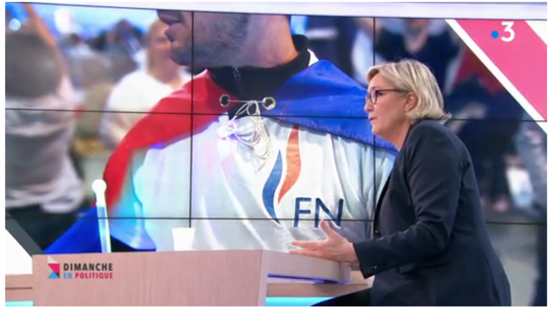 MARINE LE PEN CONTROLE FISCAL MEDIA DIXIT WORLD