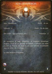 Licorne - Aura d'Hypérion (sort)