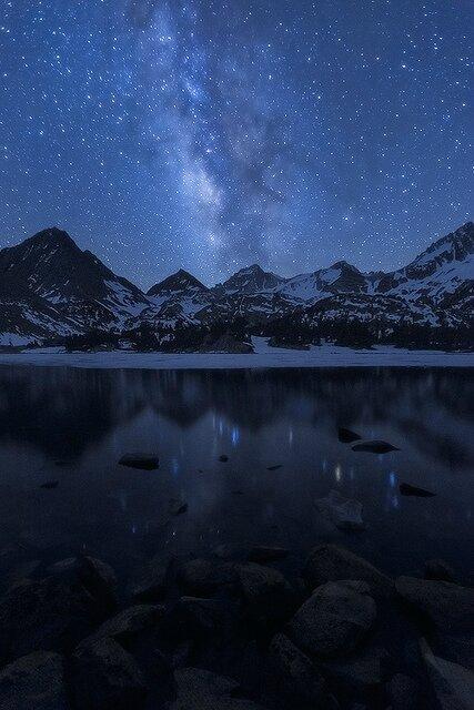 paysage sans pollution lumineuse