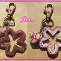 porte-clefs flower power-nathstar