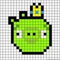 angry burd vert roi