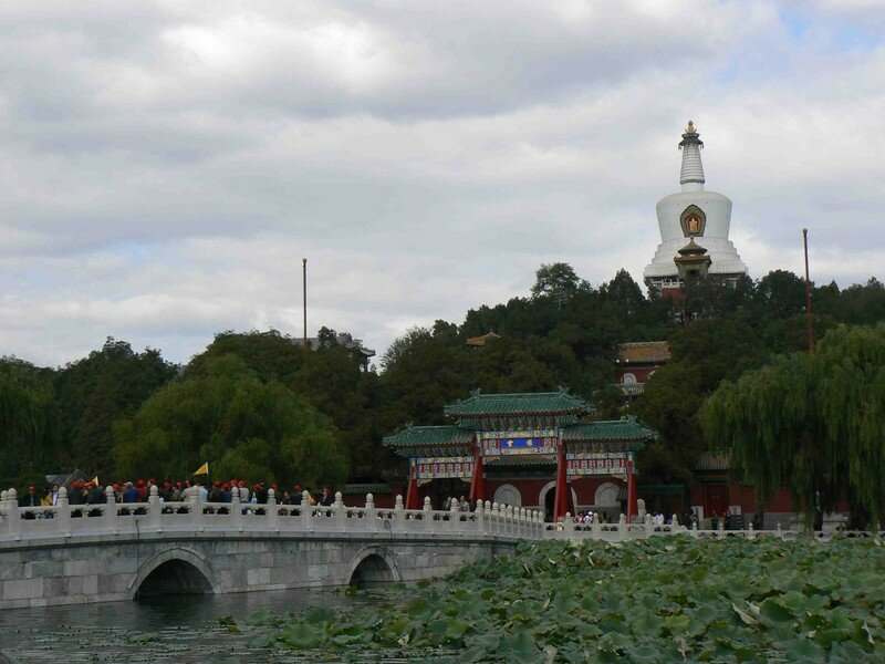 White Pagoda and the bridge