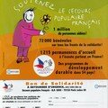 Secours populaire Don'actions 2003
