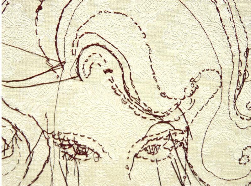 portrait femme détail