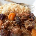 Le tajine d'agneau, pruneaux et abricots secs