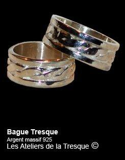 Bague Tresque