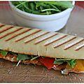 Paninis ou le soleil en sandwich