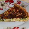 Tarte courgettes et curry