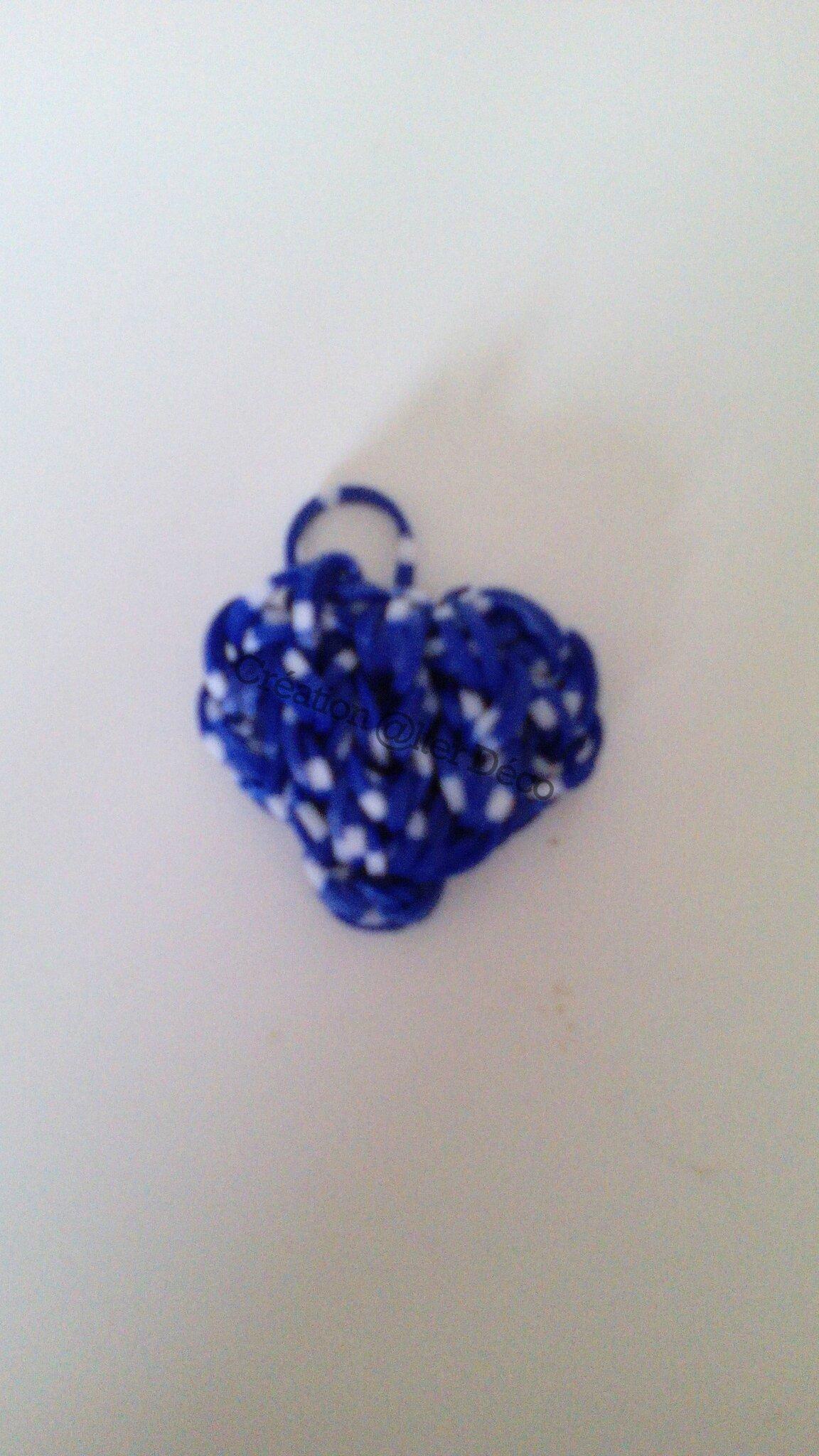 Coeur en élastiques