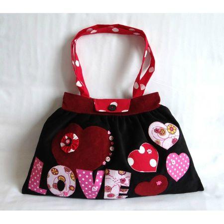 sac-cabas-trapèze-en-velours-noir-bordeaux-blanc-rouge-rose-love