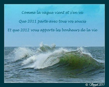 bonne annee 2012 r