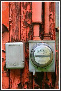 Vieux compteur electrique