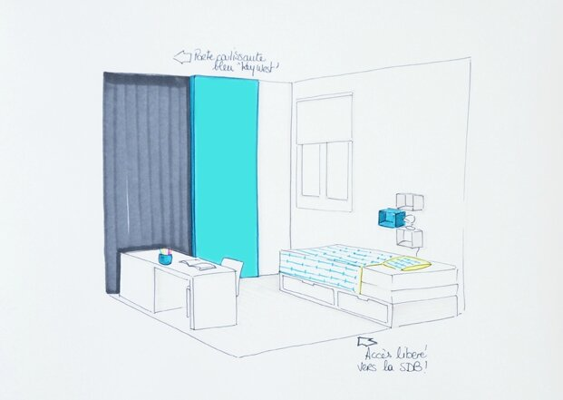 Chambre Vert Canard : Aménagement dune chambre pour petit garçon ...