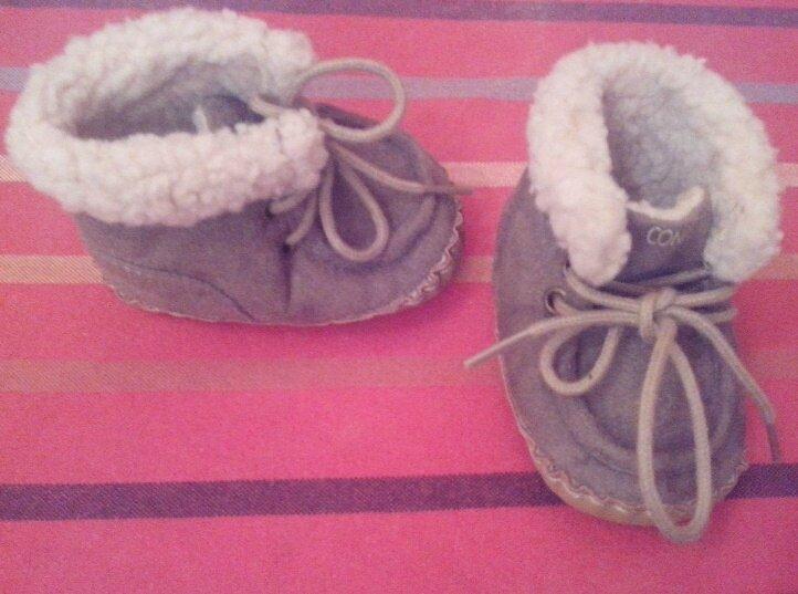 chaussures daim confetti