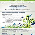 Remise du prix initiative région le 15 novembre 2011