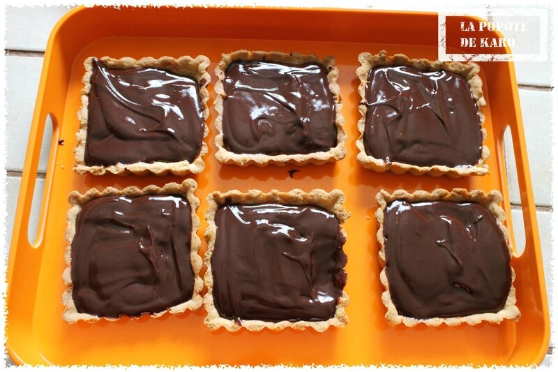 tartelettes chocolat