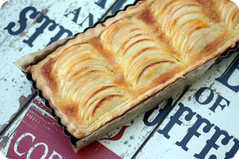 tarte aux pommes normande blog chez requia cuisine et confidences