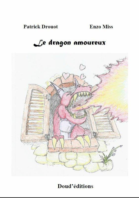 couverture le dragon amoureux