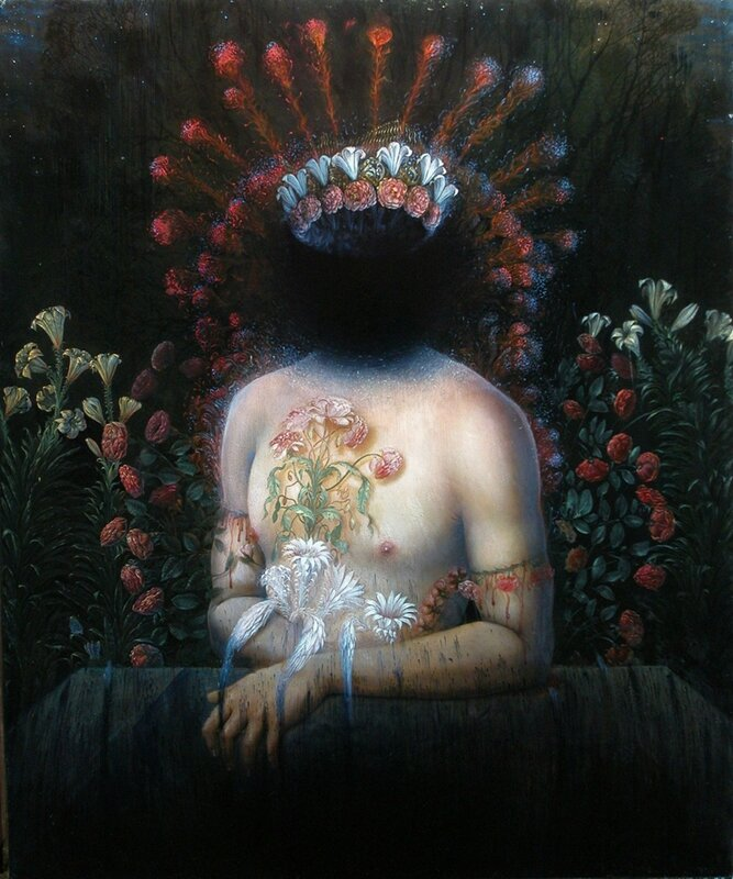 Agostino Arrivabene 1967 - Italian Surrealist painter - Tutt'Art@