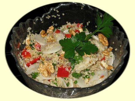Salade de quinoa aux couleurs de l'automne 2