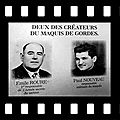 Gordes 2015: tournage du dvd des sentiers de mémoire du maquis de gordes 1942-1944