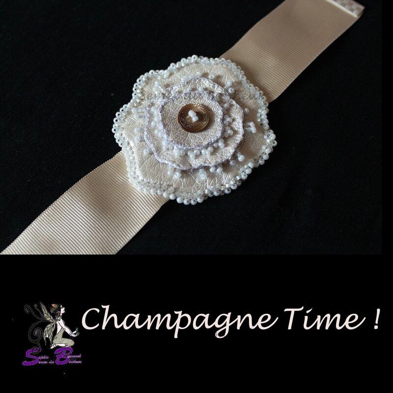 bracelet champagne time 2