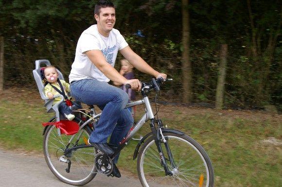Eric à vélo