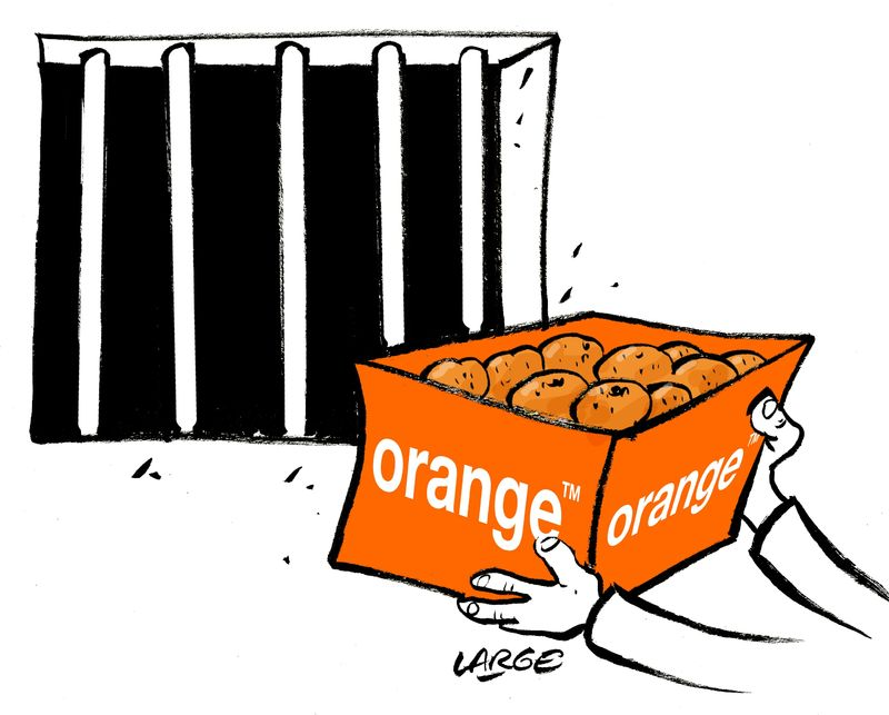 Orange s dessin de presse large - Orange dessin ...