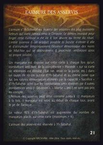 Yh Sabahal - l_armure_des_asservis (artefact)