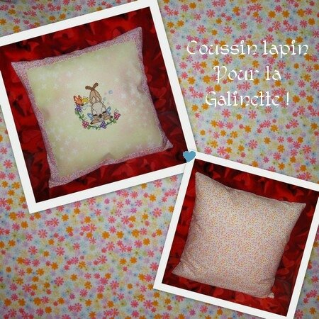 coussin lapin 1